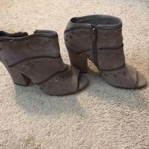 Jessica Simpson block heel booties